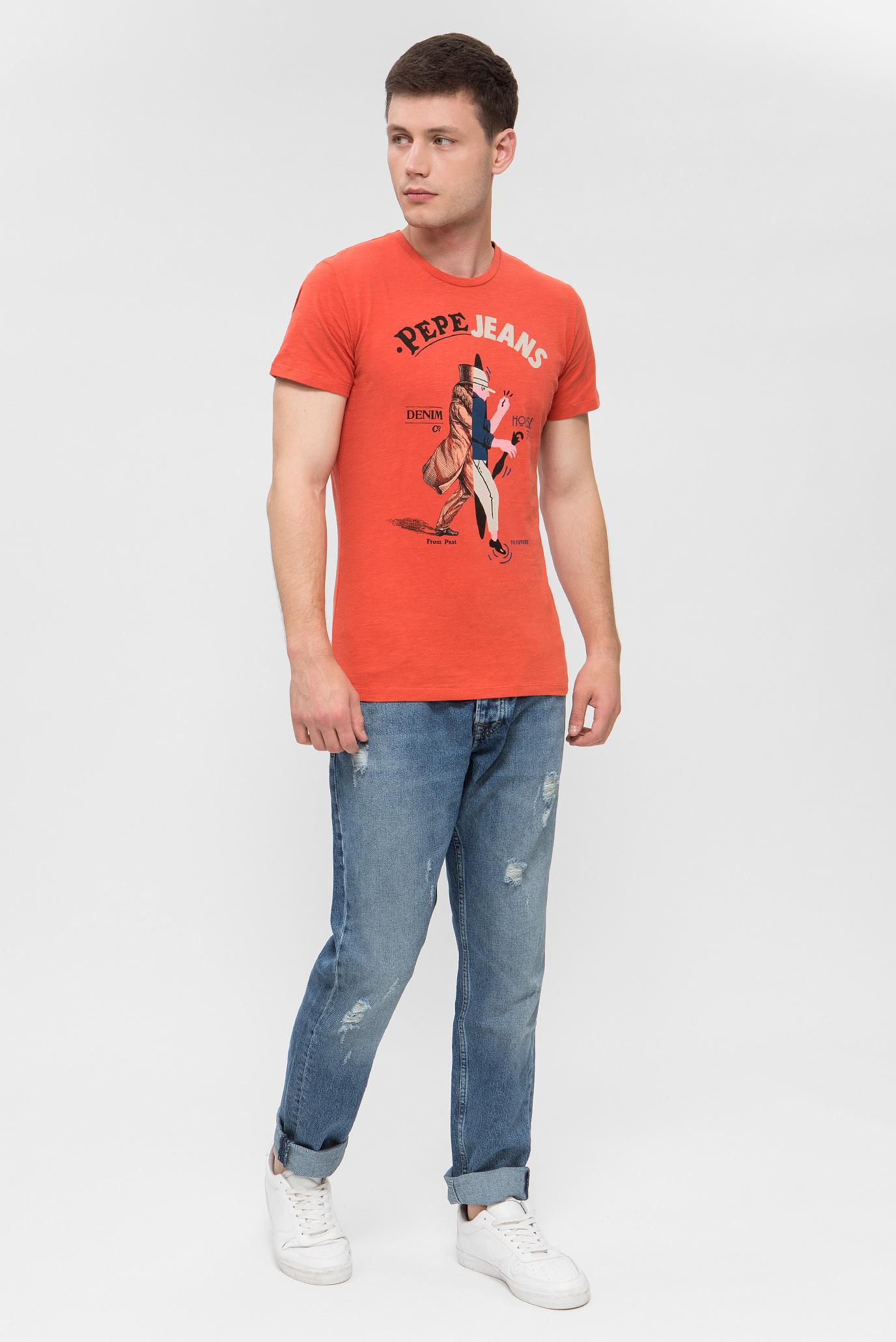 Купить Мужские голубые джинсы MALTON Pepe Jeans Pepe Jeans PM202375GH52 – Киев, Украина. Цены в интернет магазине MD Fashion