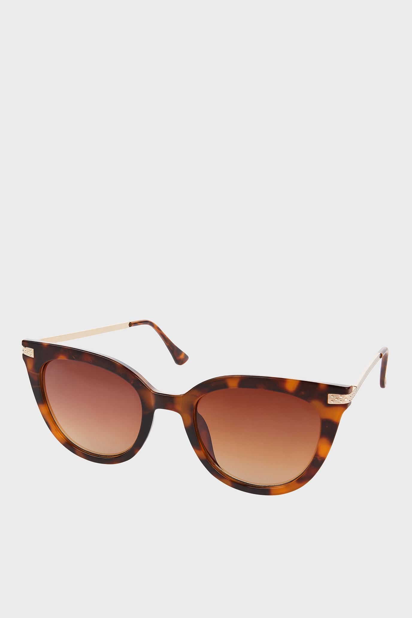 Коричневі сонцезахисні окуляри CAROLINE CATEYE SUNG 1