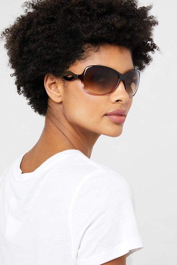 Женские коричневые очки WENDY WAVY ARM