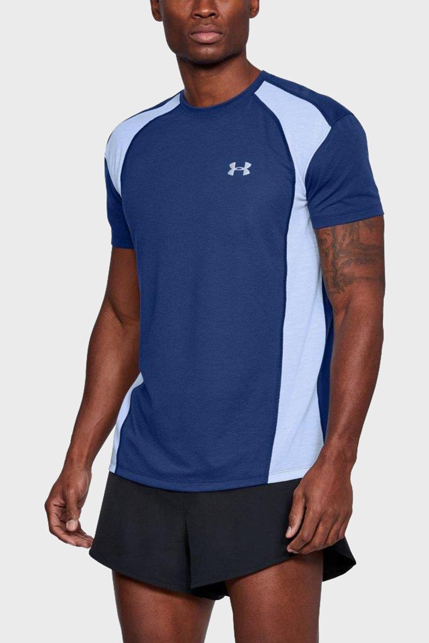 Мужская синяя футболка STREAKER MESH