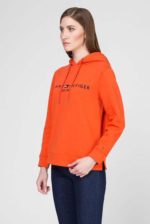 Женское оранжевое худи TH ESS