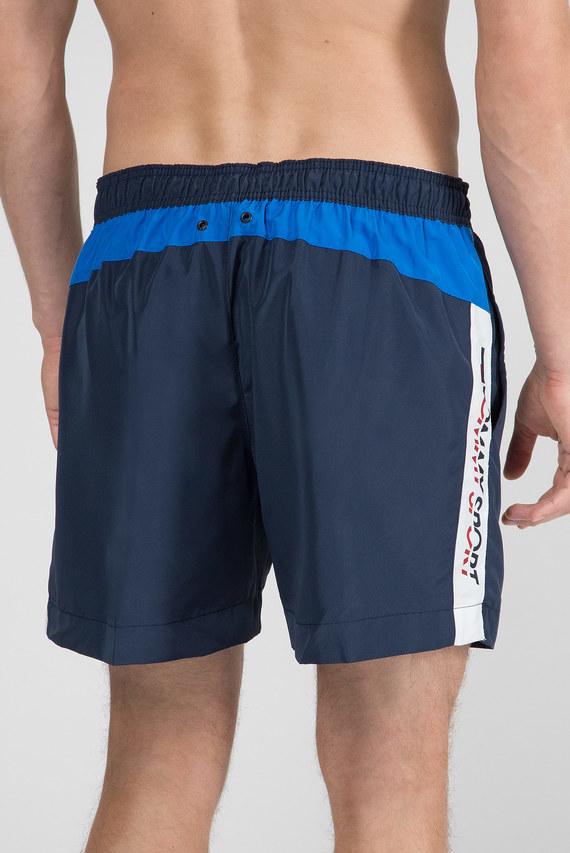 Мужские темно-синие плавательные шорты