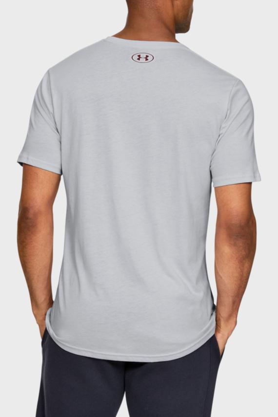 Мужская серая футболка SPORTSTYLE LOGO SS-GRY