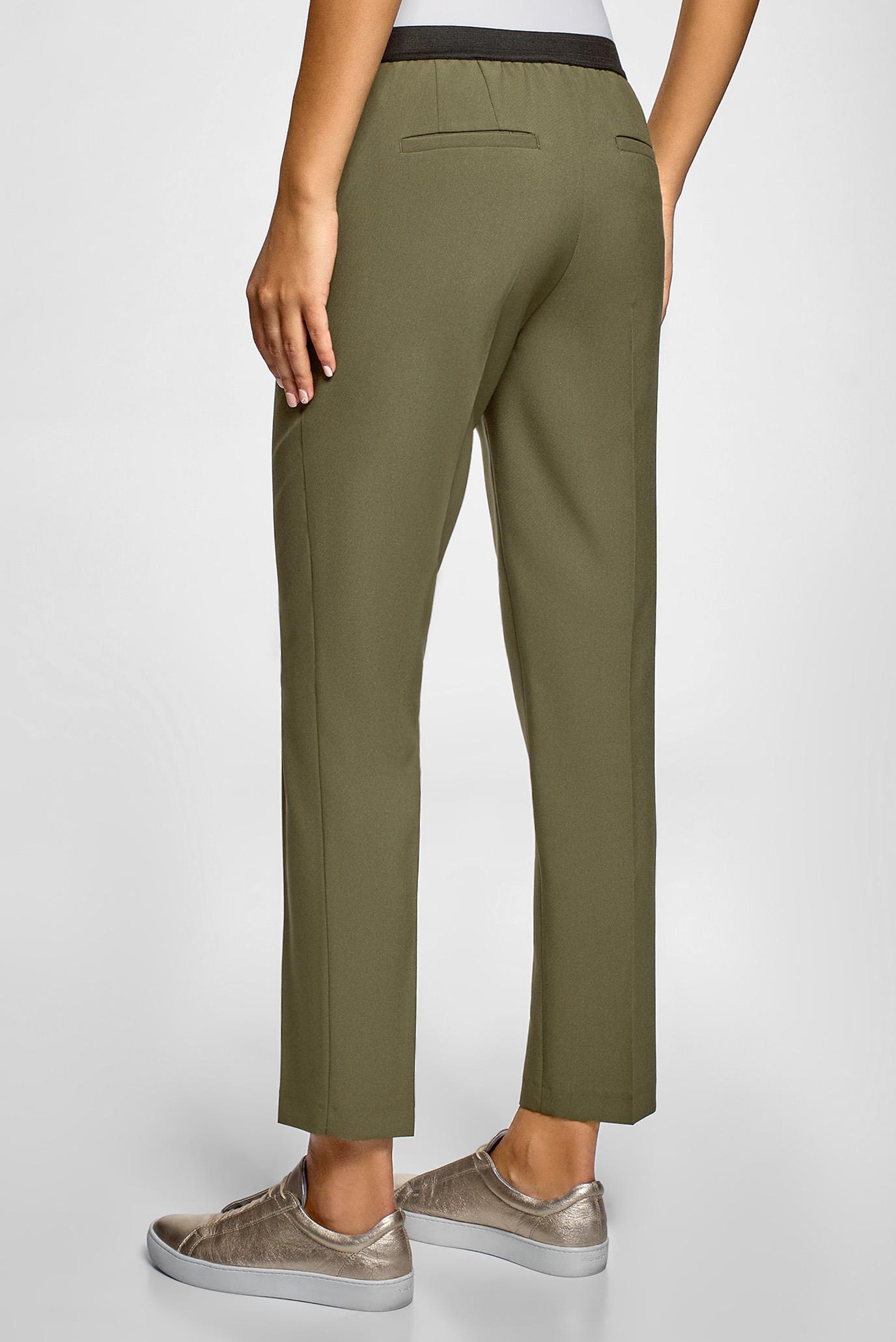 Женские зеленые брюки Oodji
