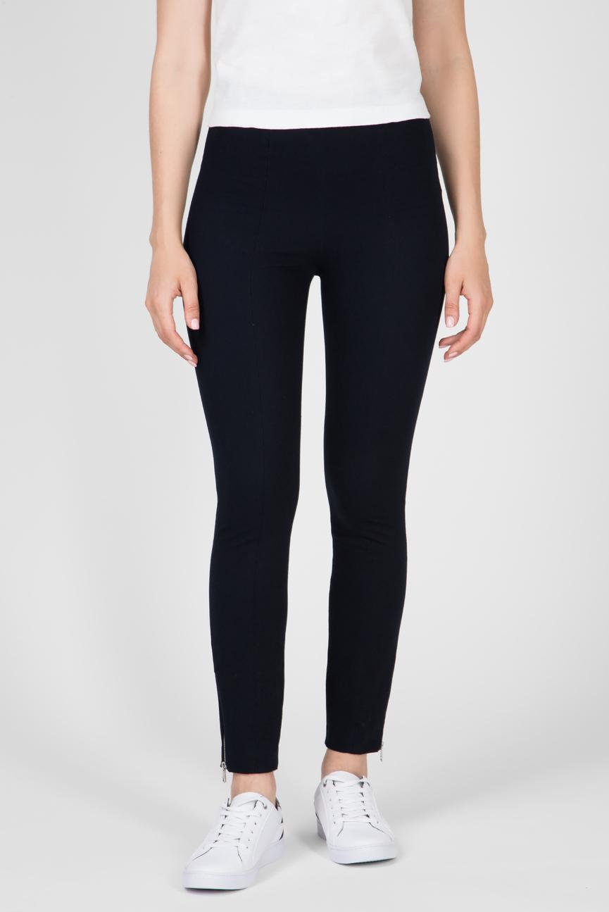 Женские темно-синие брюки TH ESSENTIAL HW ANKLE