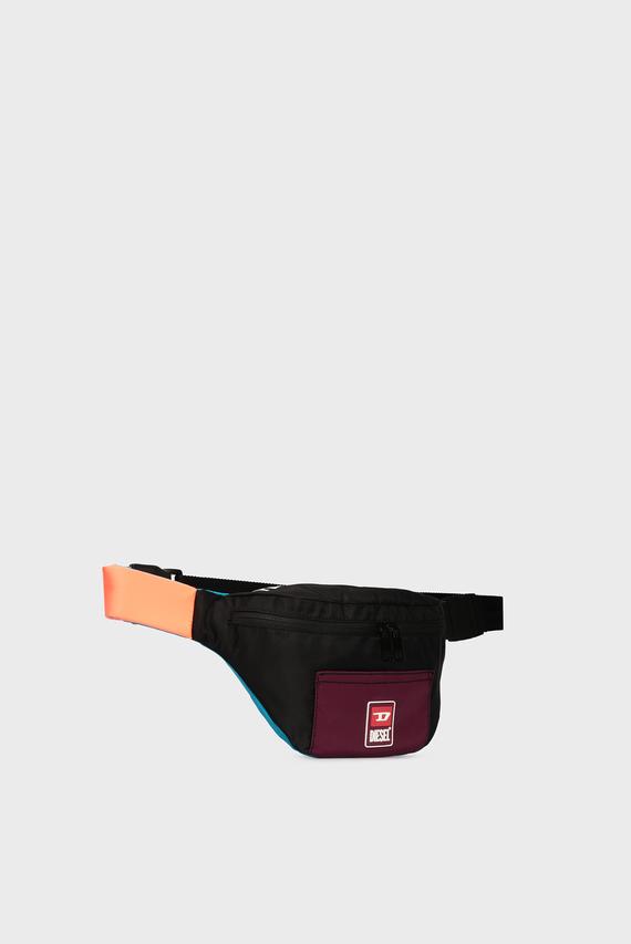 Мужская черная поясная сумка F-SUSE BELTBG