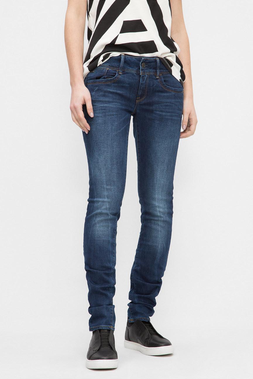 Женские синие джинсы Lynn Mid Skinny