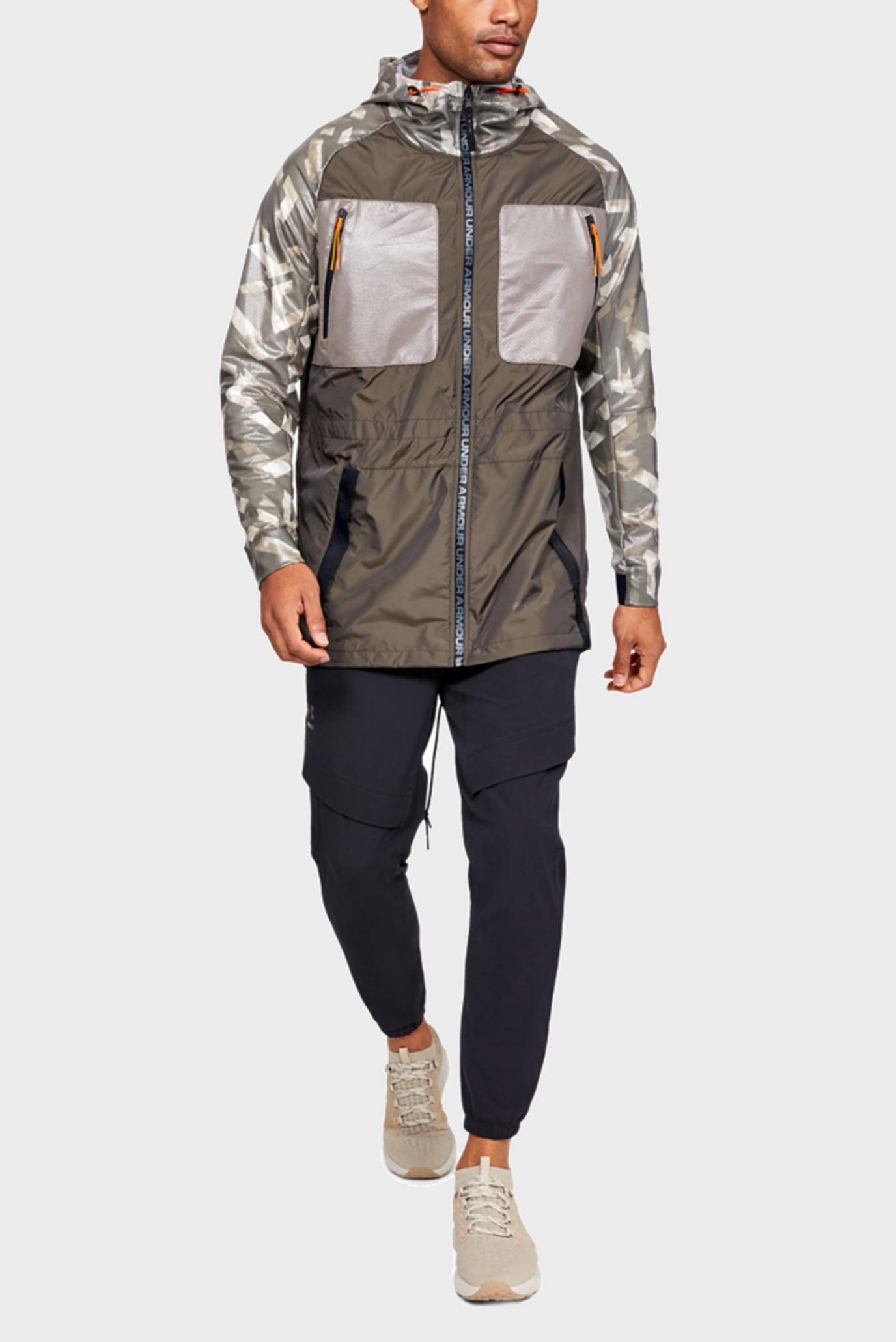 Купить Мужская коричневая парка PERPETUAL PRINT PARKA Under Armour Under Armour 1330961-221 – Киев, Украина. Цены в интернет магазине MD Fashion