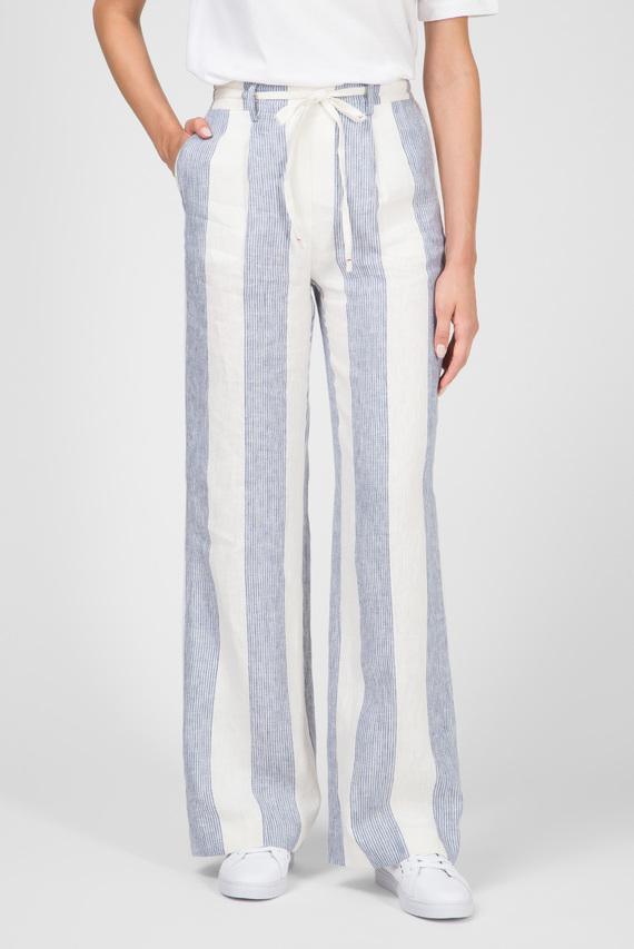 Женские голубые брюки MARTINA
