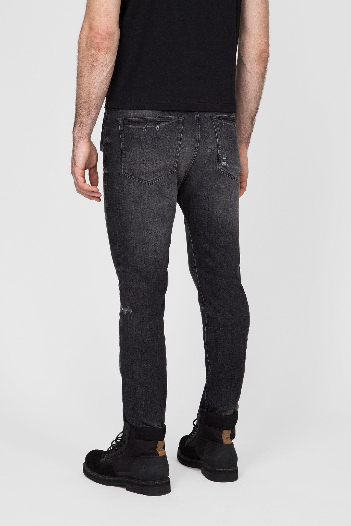 Мужские темно-серые джинсы D-VIDER Diesel