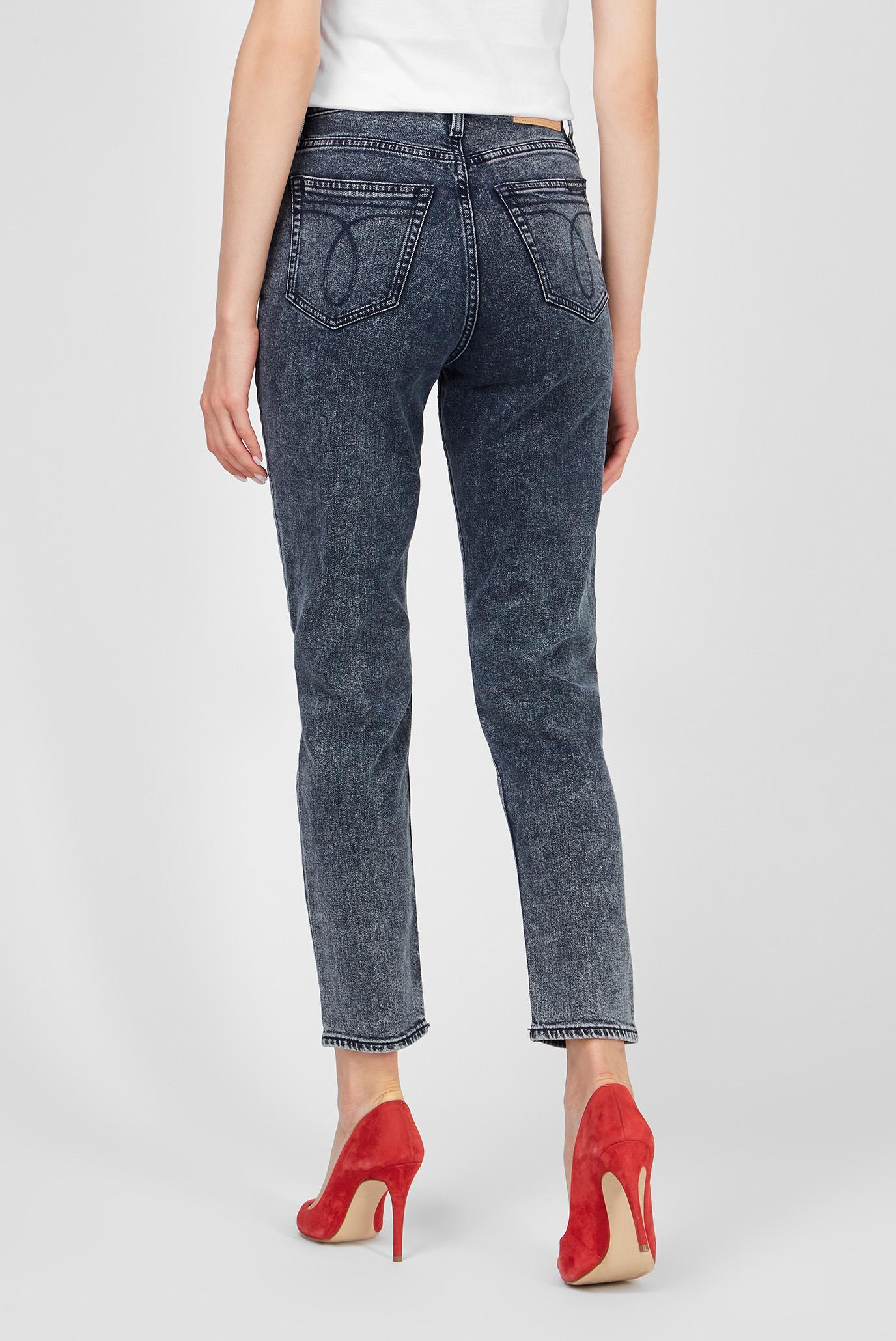 Женские темно-синие джинсы MOM Calvin Klein