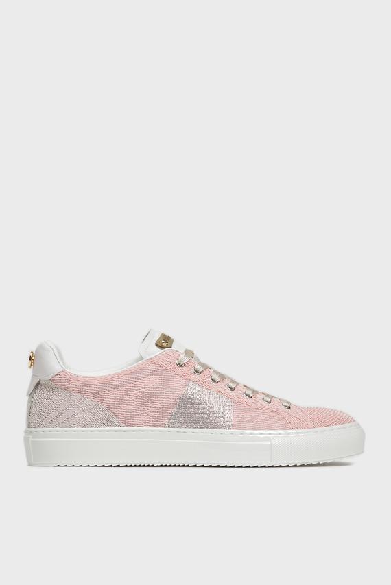 Женские розовые сникеры