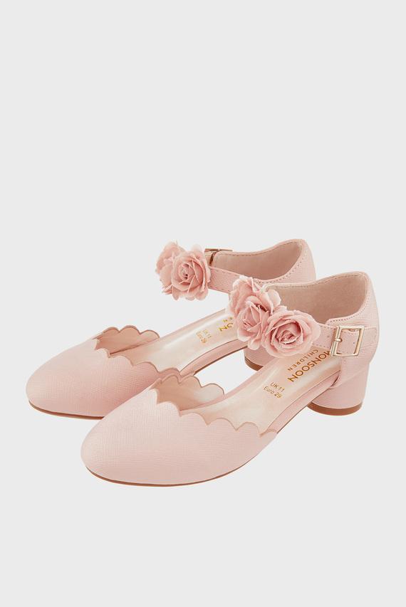 Детские розовые туфли MATILDA