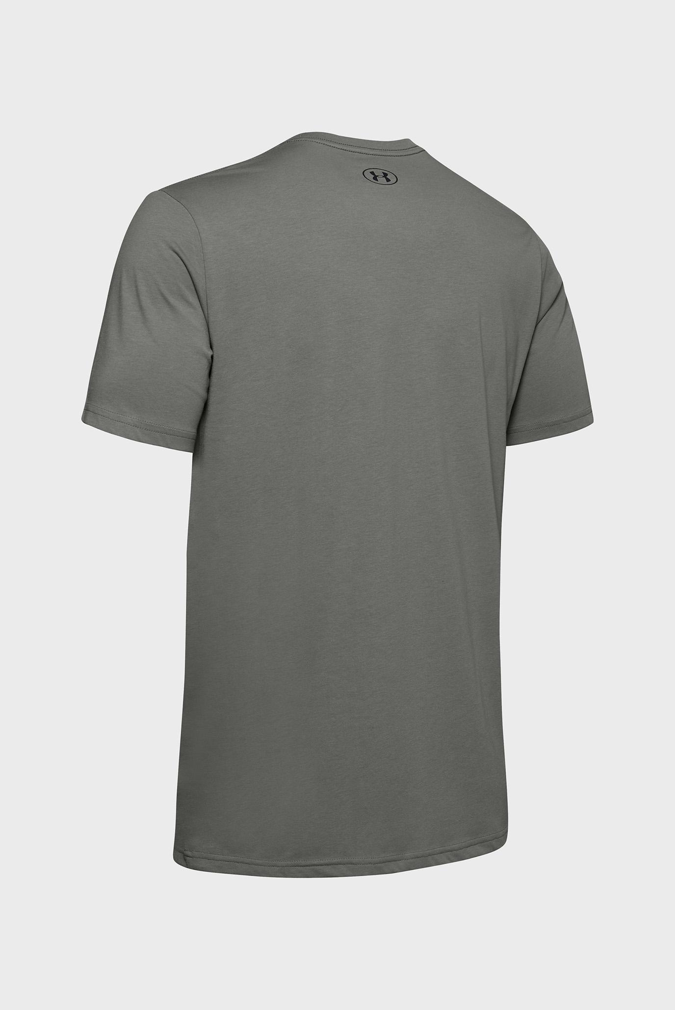 Мужская оливковая футболка UA GL Foundation SS T Under Armour