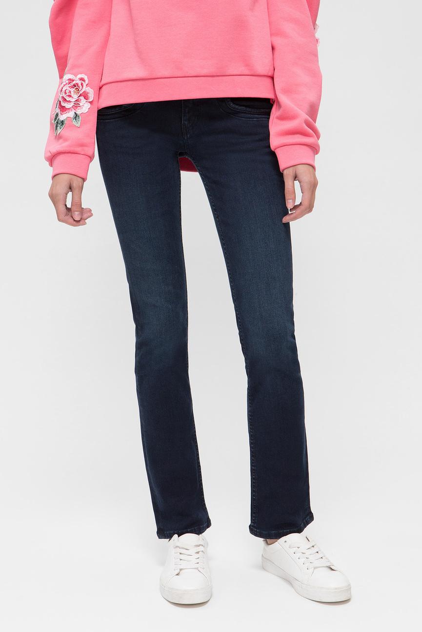Женские темно-синие джинсы GEN