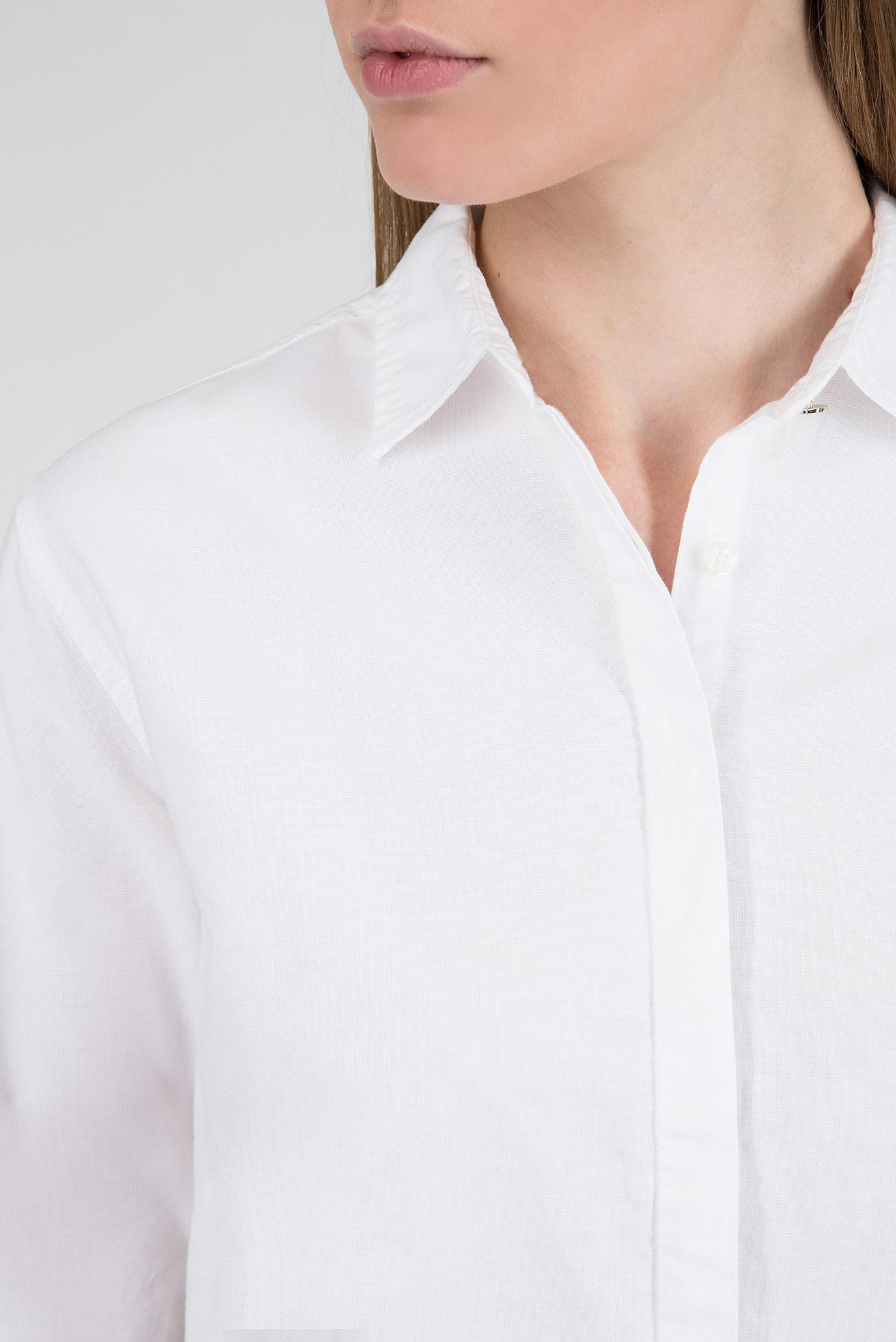 Купить Женская белая рубашка Tommy Hilfiger Tommy Hilfiger WW0WW23006 – Киев, Украина. Цены в интернет магазине MD Fashion
