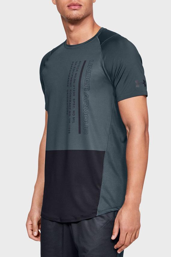 Мужская темно-серая футболка MK1 SS Colorblock