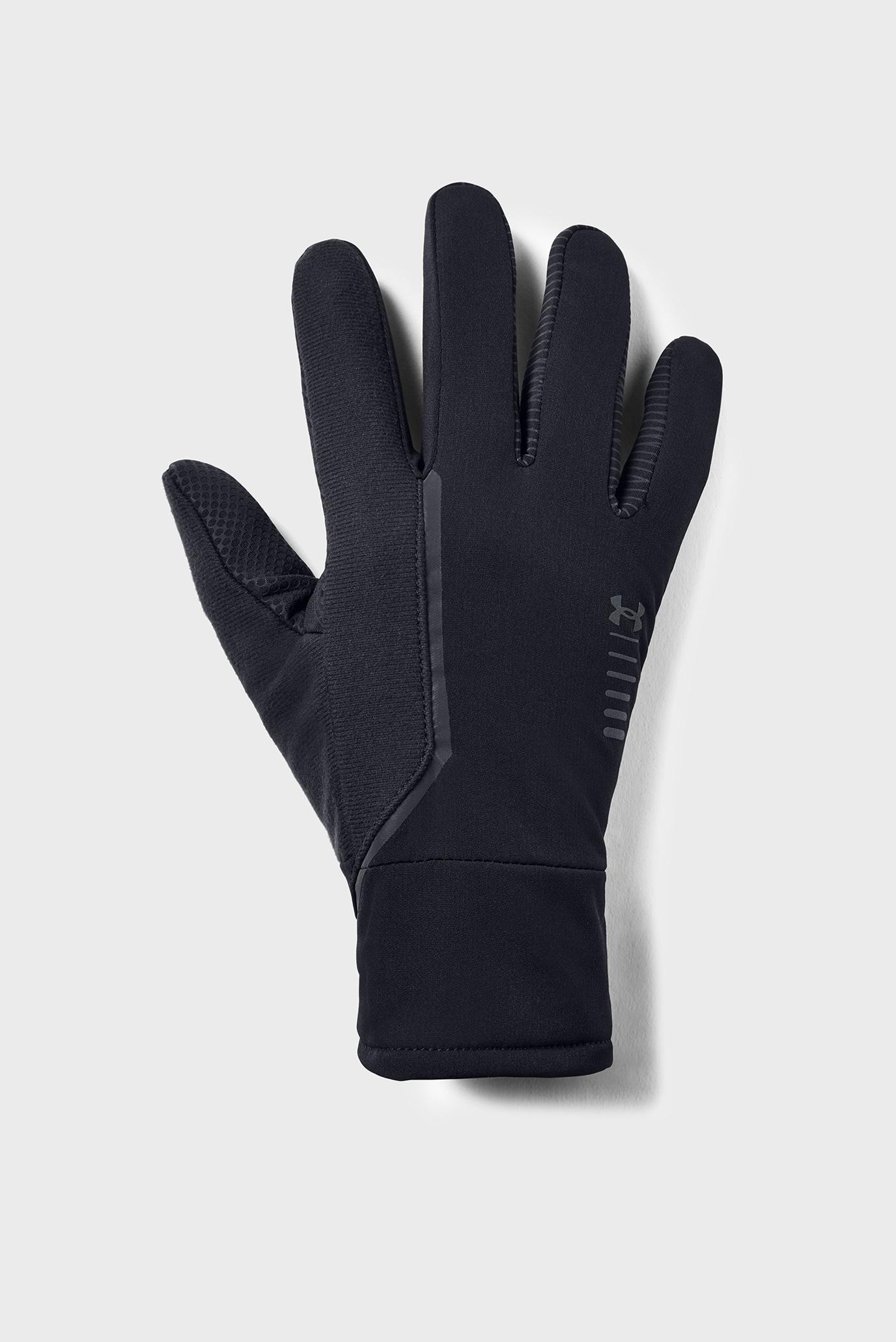 Купить Мужские черные перчатки Men's Storm Run Glove Under Armour Under Armour 1345385-001 – Киев, Украина. Цены в интернет магазине MD Fashion