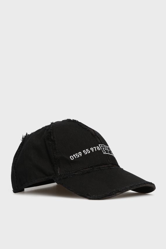 Женская черная кепка CIREVERSE