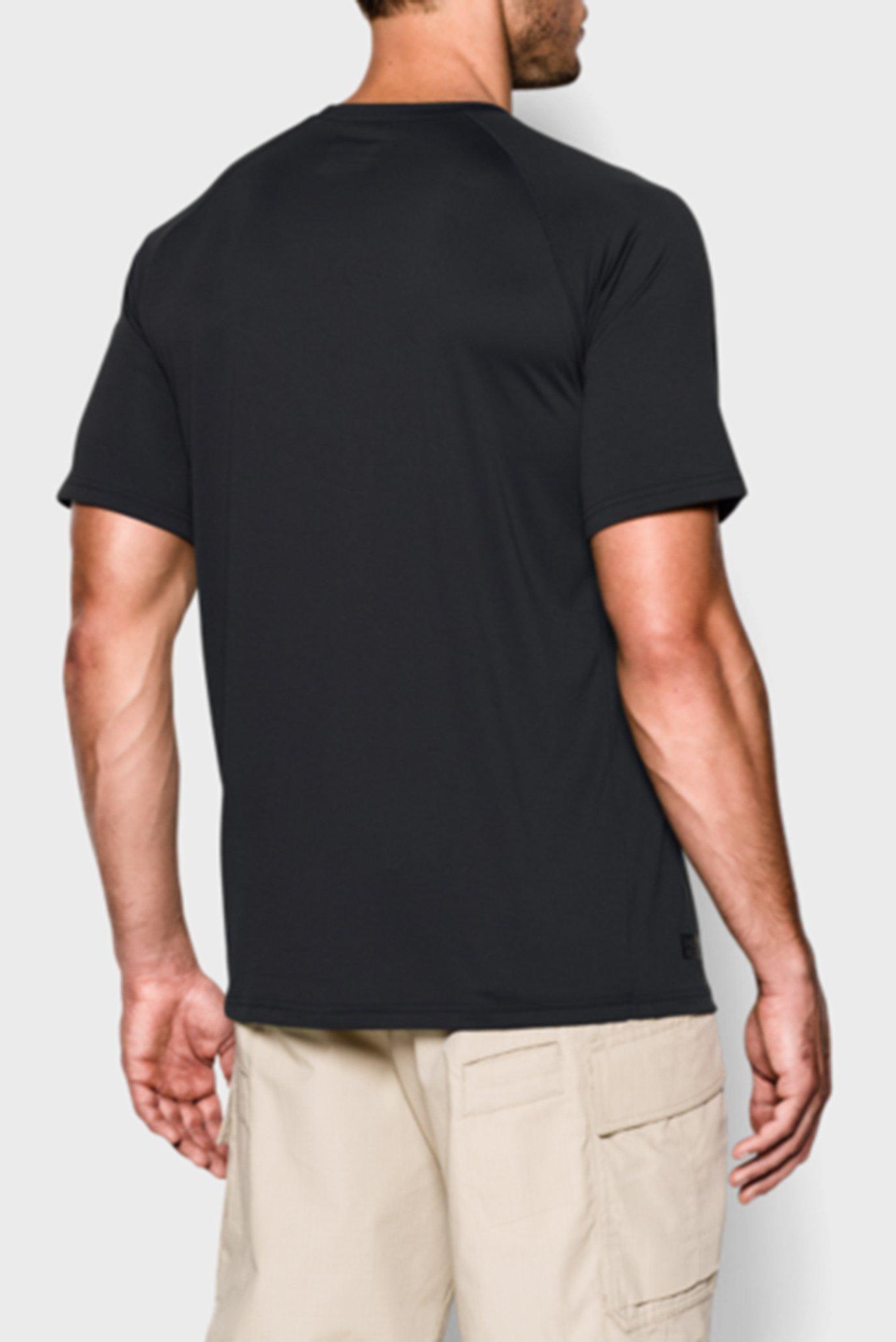 Купить Мужская черная футболка UA TAC Tech T Under Armour Under Armour 1005684-001 – Киев, Украина. Цены в интернет магазине MD Fashion