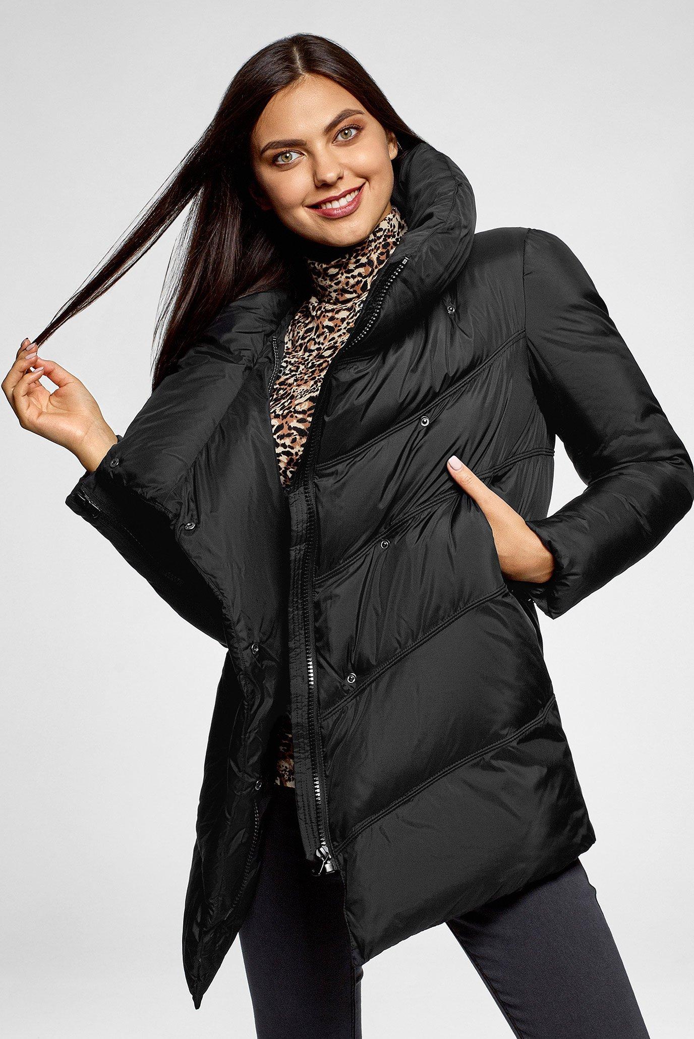 Женская черная куртка 1