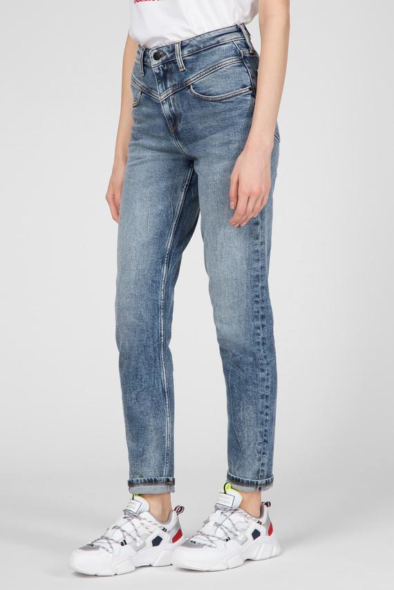 Женские голубые джинсы GRAMERCY TAPERED