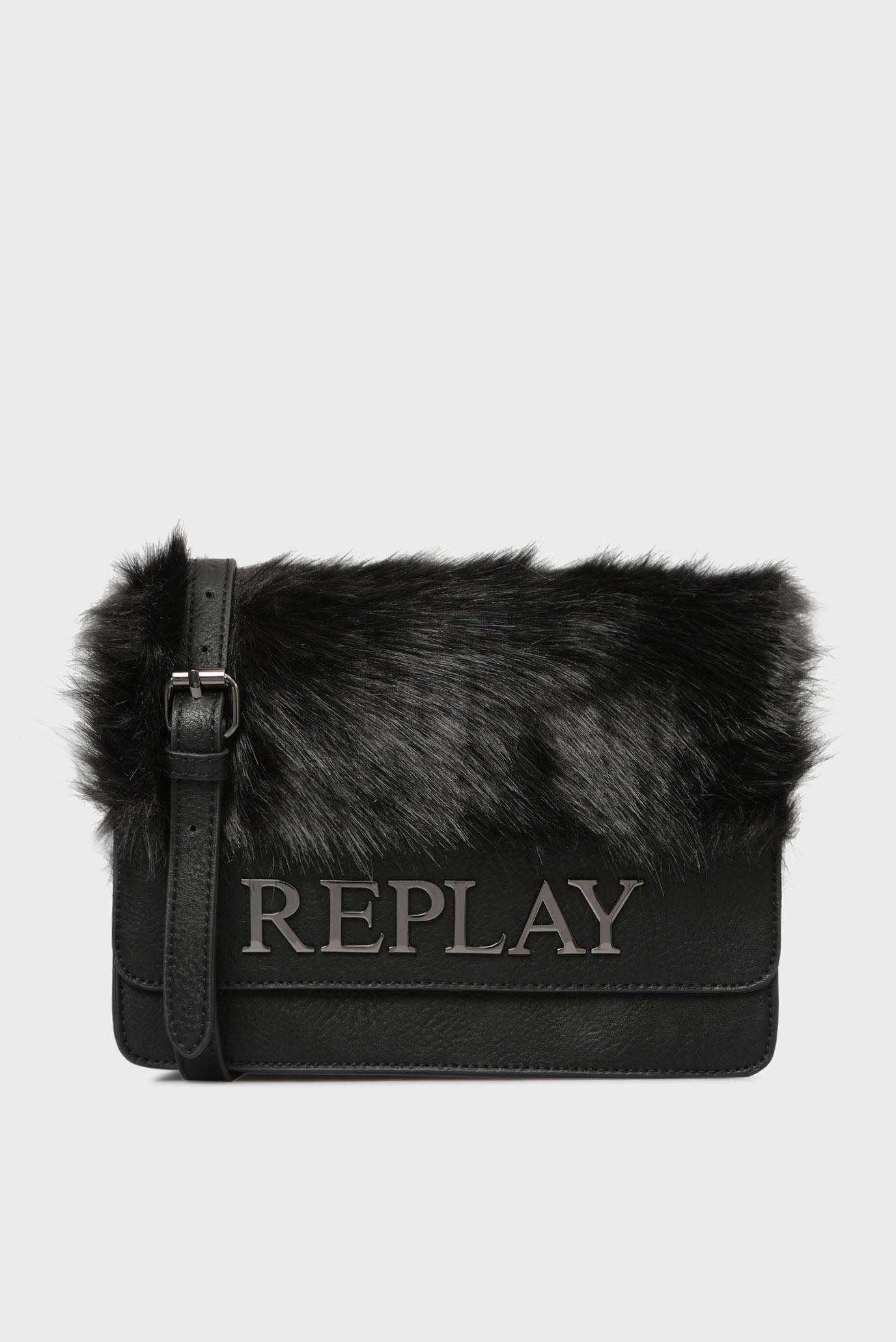 Купить Женская черная сумка через плечо Replay Replay FW3788.000.A0258 – Киев, Украина. Цены в интернет магазине MD Fashion