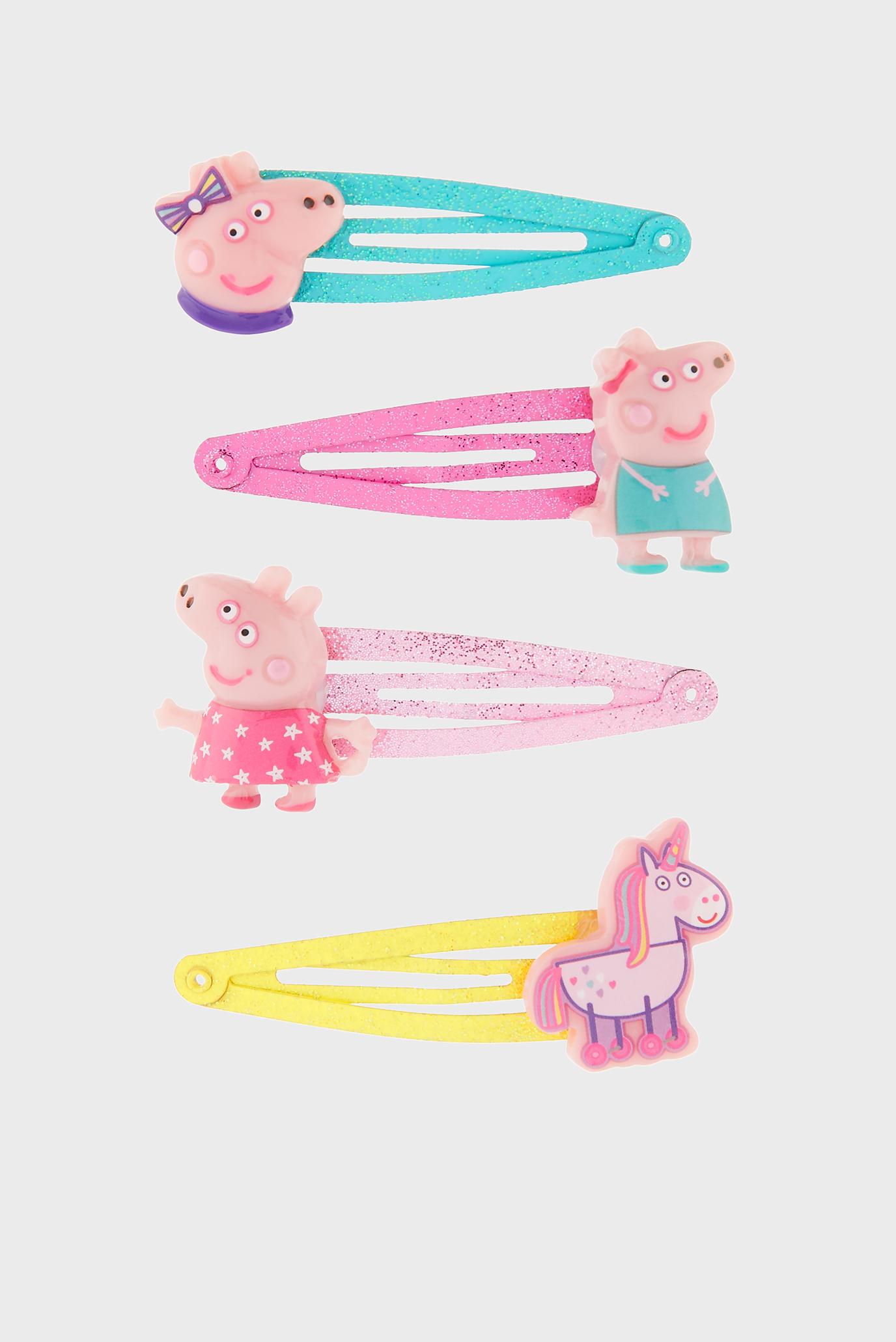 Детские заколки PEPPA PIG (4 шт) Accessorize