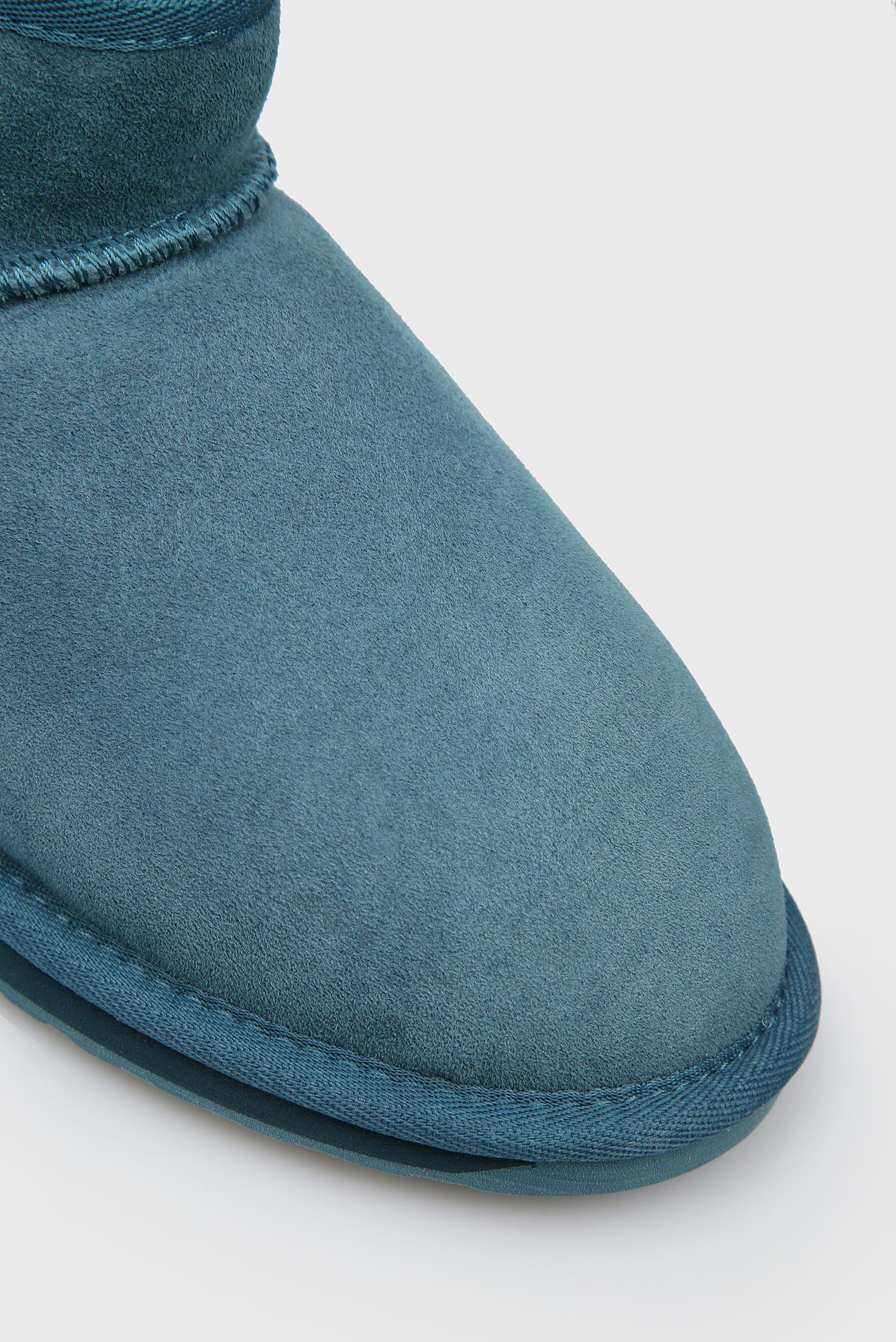 Купить Женские голубые замшевые угги Stinger Micro EMU Australia  EMU Australia  W10937 – Киев, Украина. Цены в интернет магазине MD Fashion