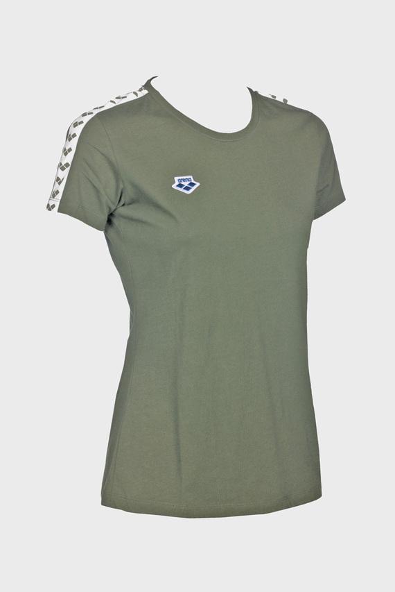 Женская зеленая футболка TEAM