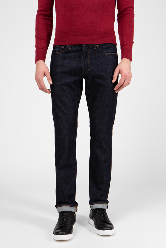 Мужские темно-синие джинсы 410