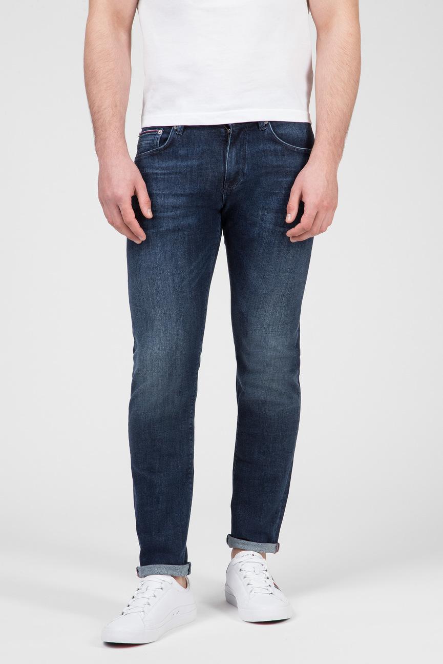 Мужские синие джинсы SLIM BLEECKER PSTR ENAN