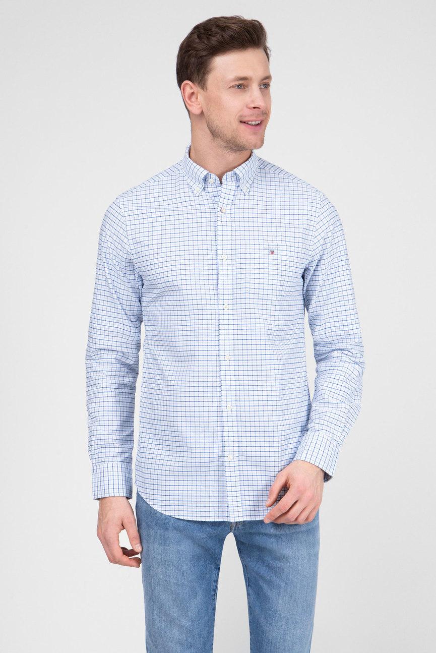 Мужская белая рубашка THE OXFORD