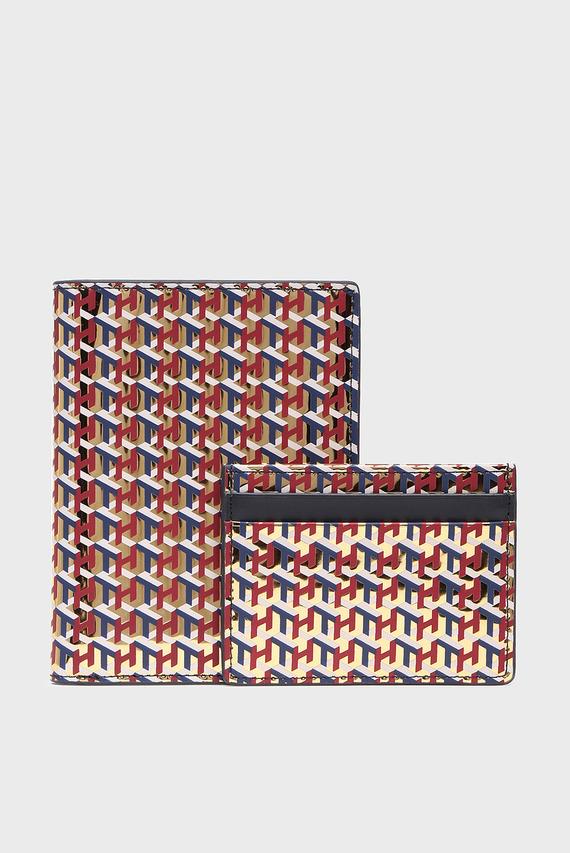 Набор женских аксессуаров (визитница, обложка для паспорта)