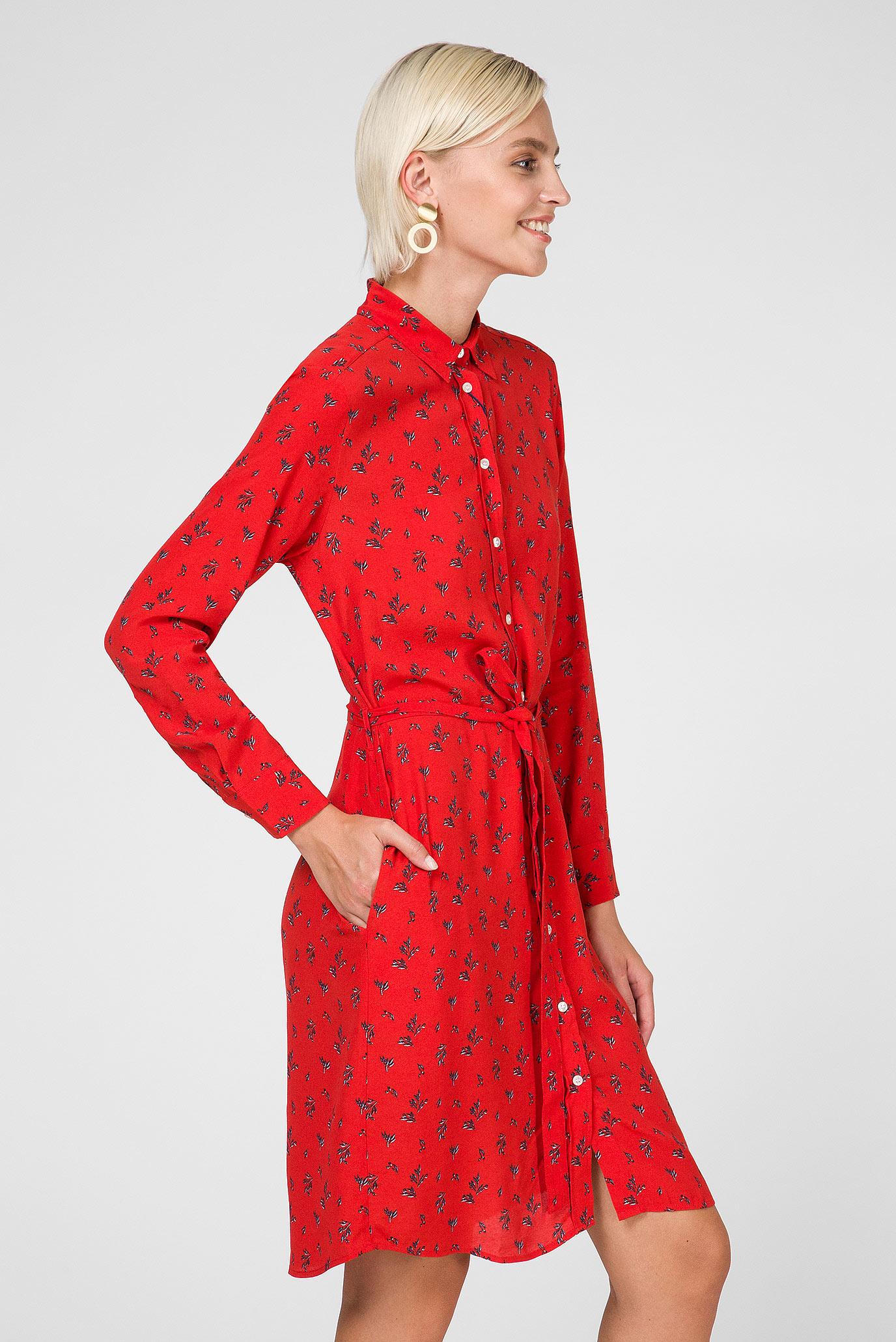 508fe8b8b3119 Купить Женское красное платье-рубашка BREEZY HARVEST Gant Gant 4503063 –  Киев, Украина. Цены в интернет магазине ...