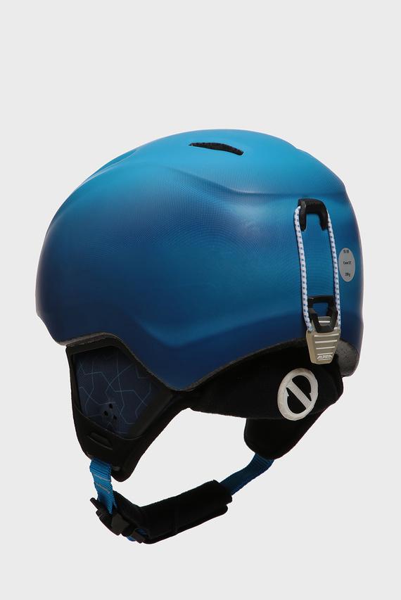 Детский синий горнолыжный шлем CARAT XT