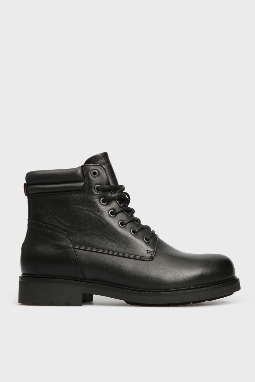 Мужские черные кожаные ботинки ACTIVE LEATHER WATERPROOF BOOT