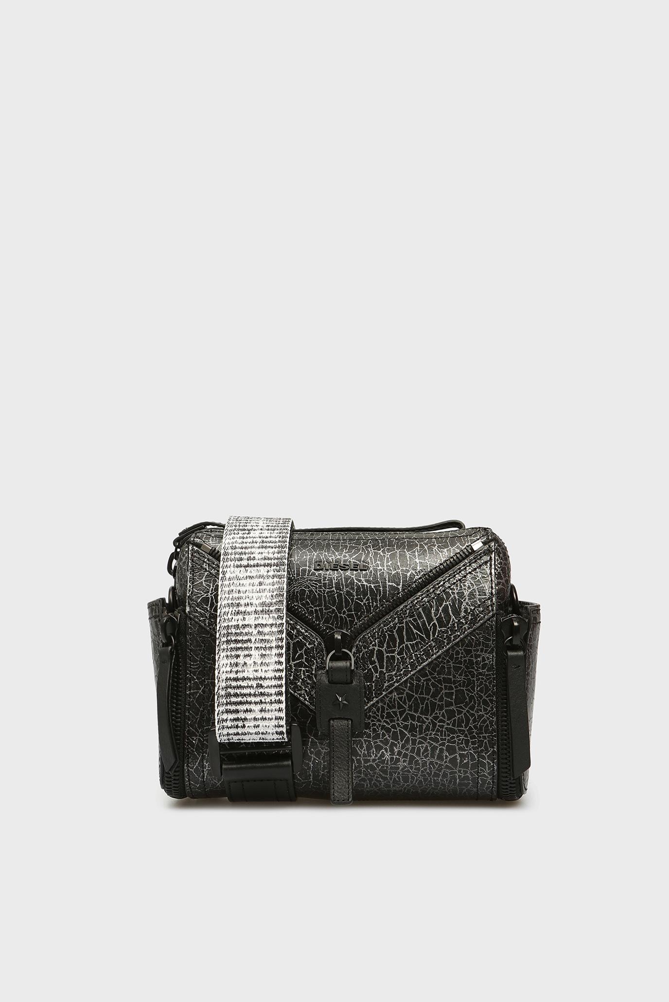 87fc96f95bb1 Купить Женская черная кожаная сумка через плечо Diesel Diesel X03891 P1819  – Киев, Украина. Цены в интернет ...