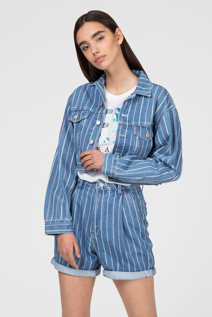 Женская синяя джинсовая куртка FERN