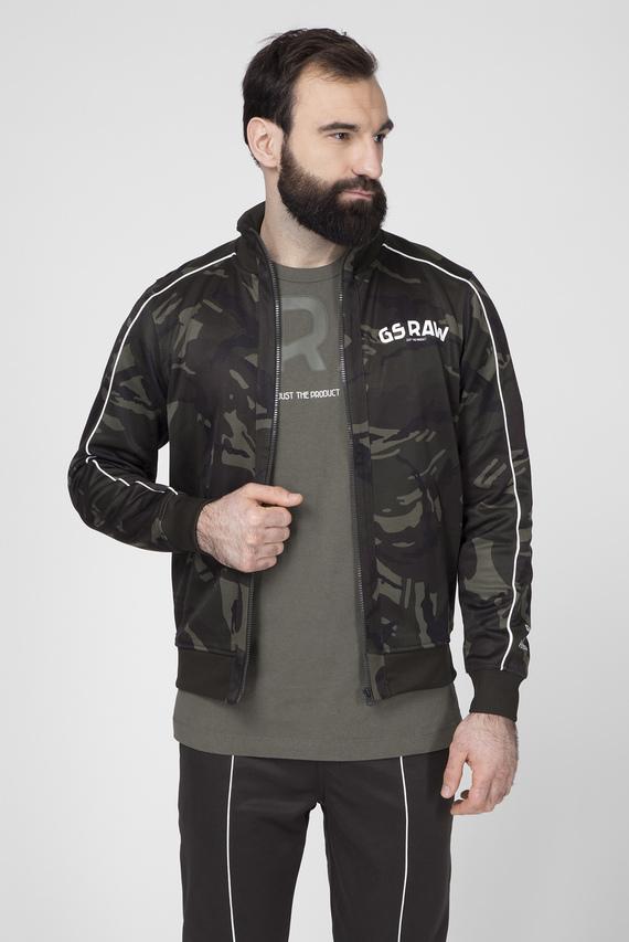 Мужская зеленая спортивная кофта Gsraw ao track