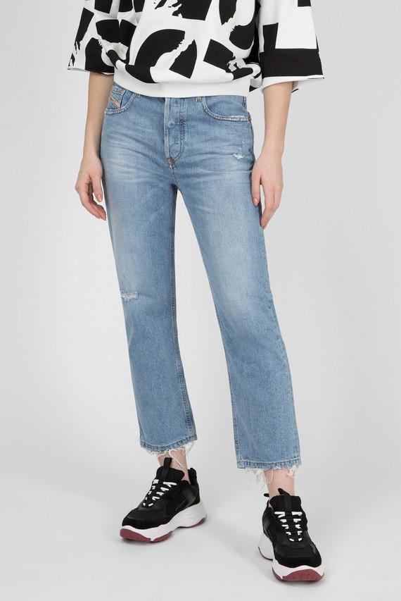 Женские голубые джинсы ARYEL