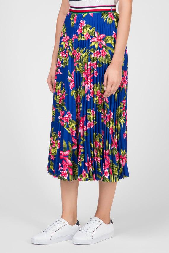Женская синяя юбка-плиссе ERICA