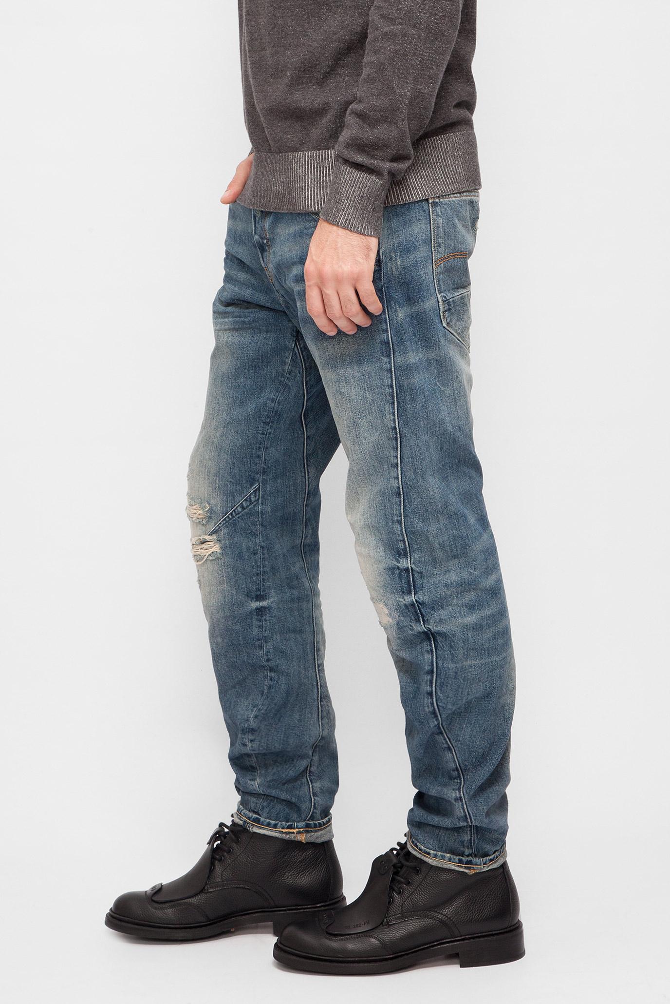 Купить Мужские синие джинсы Arc 3D Tapered G-Star RAW G-Star RAW D02023,8595 – Киев, Украина. Цены в интернет магазине MD Fashion