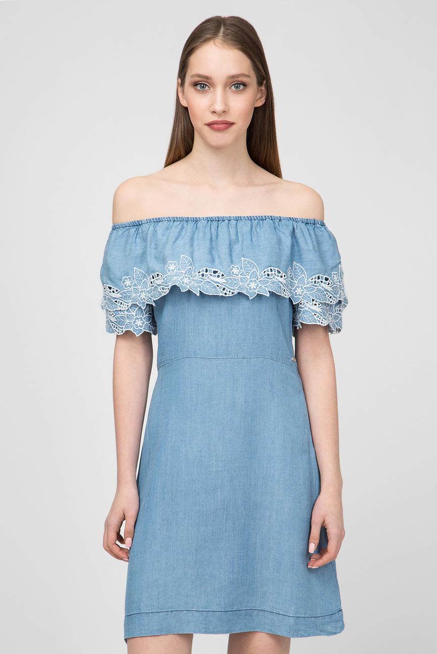 Женское голубое платье TATI