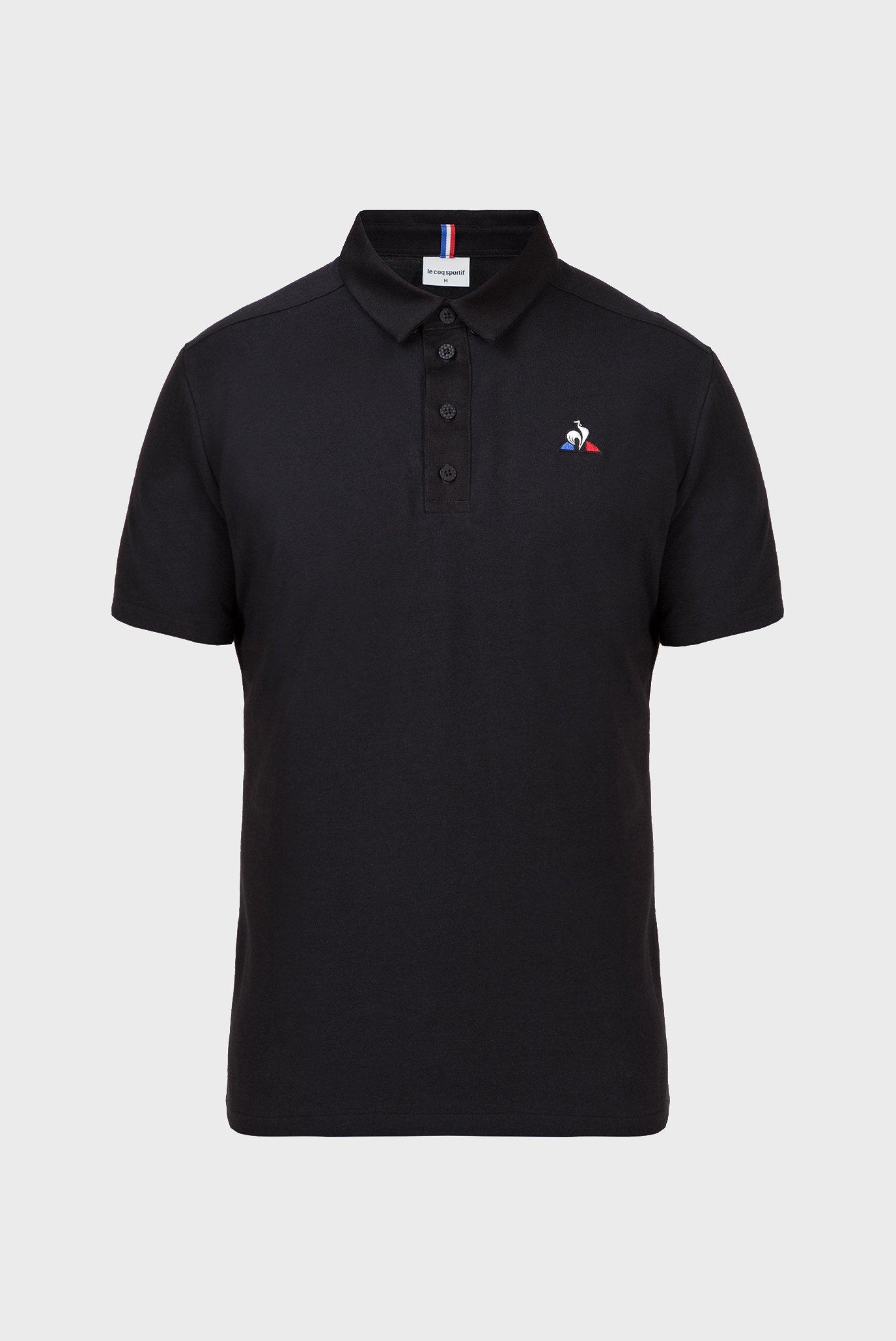 Чоловіче чорне поло ESS POLO SS N2 Le Coq Sportif