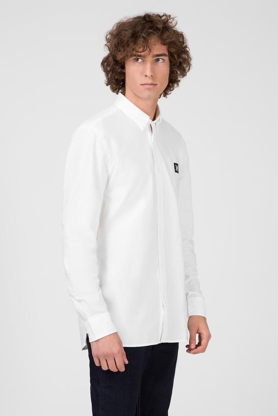 Мужская белая рубашка LEWIS HAMILTON CLASSIC OXFORD