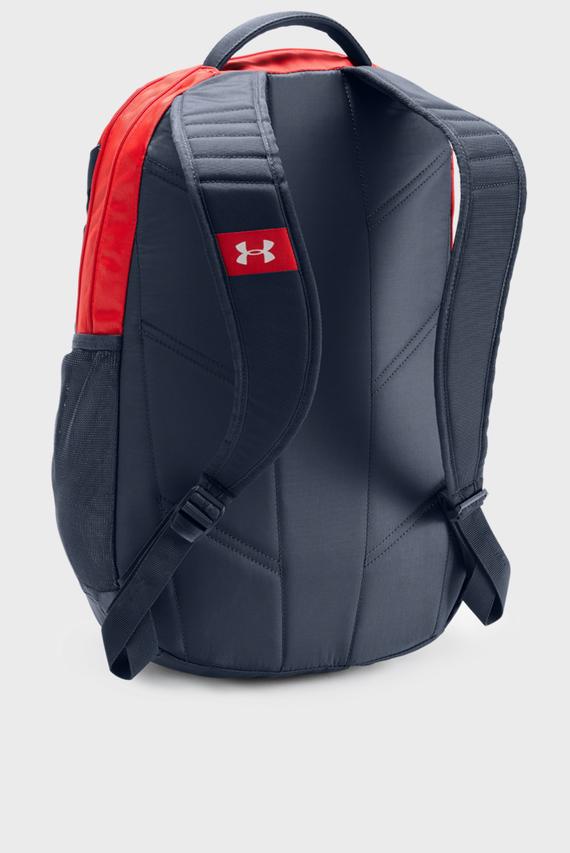 Мужской красный рюкзак UA Hustle 3.0