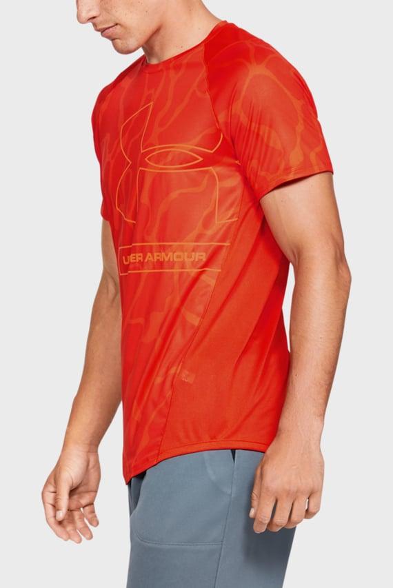 Мужская оранжевая спортивная футболка MK1 Tonal Print SS