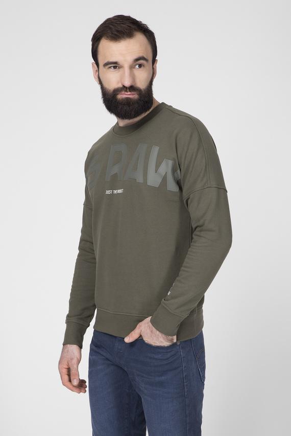 Мужской зеленый свитшот Gsraw