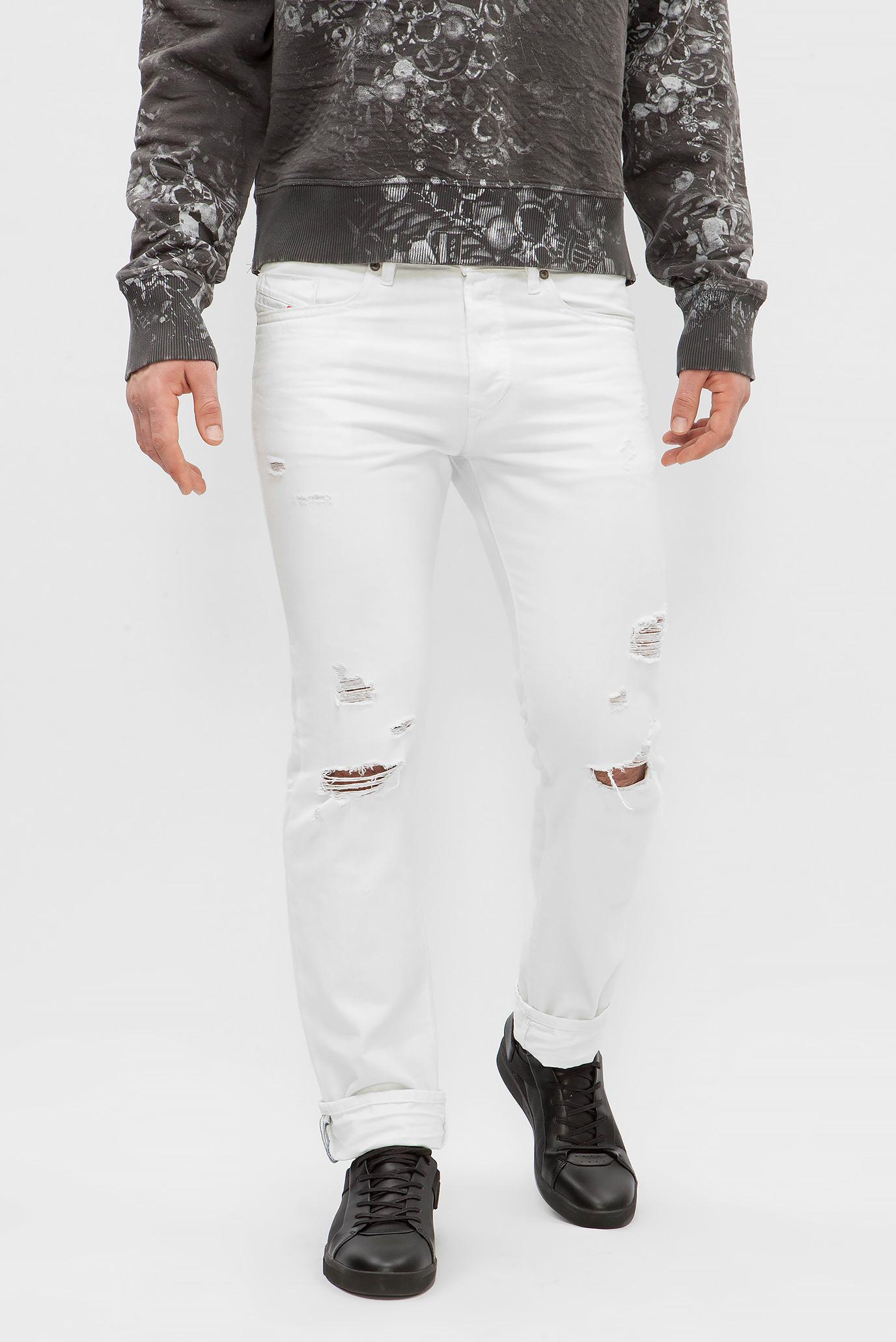 f252313b718 Купить Мужские белые джинсы BUSTER Diesel Diesel 00SDHB 0680K – Киев ...